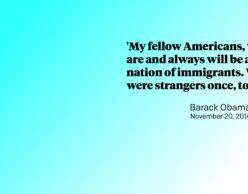Barack Obama Immigration Speech