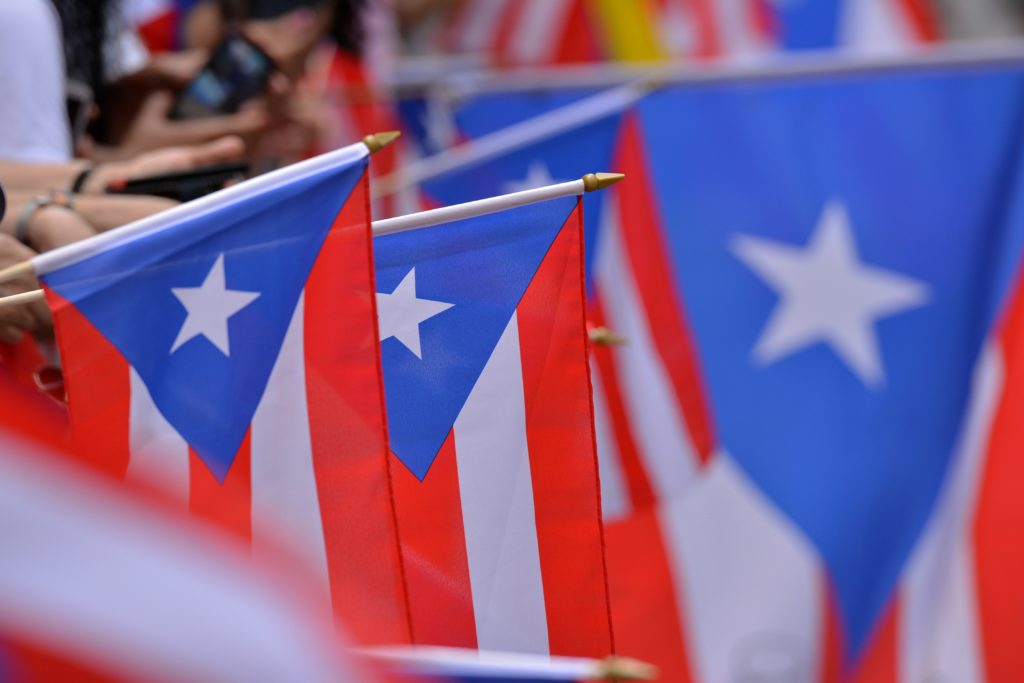 Puerto Rican flags